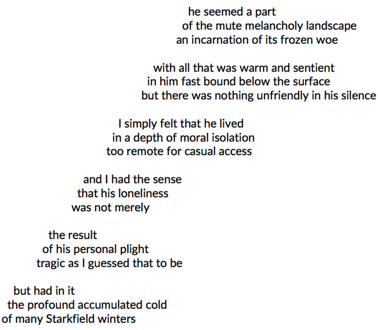 screen capture of Ethan Frome Poem by Bill Yarrow