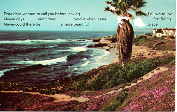 The coast, La Jolla California 1966, art by TJ Wren